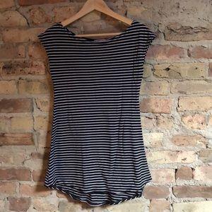 Incredibly soft cotton long T-shirt mini dress